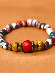 Strand Bracelets Ceramic  Vintage Daily / Casual Jewelry Gift