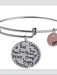 English Letter Bracelet