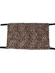 Cat / Dog Bed Pet Mats & Pads Portable / Breathable / Tent / Leopard / Zebra Black / Brown / Gray Polar Fleece / Terylene / Textile