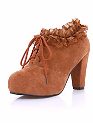 Women's Boots / Fashion Boots / Basic Pump / Round Toe Office & Career / Party & Evening / Dress