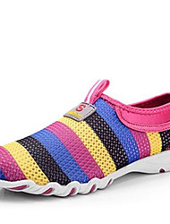 Da donna-Sneakers-Tempo libero-Comoda-Piatto-Tulle-Viola / Rosso / Grigio