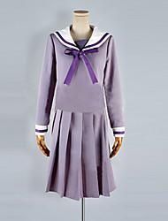Noragami Hiyori ИКИ девушки Школьная форма Косплей Костюм
