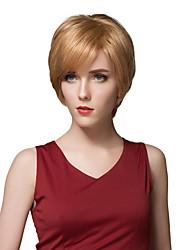 couches courtes charmantes perruques capless de cheveux humains