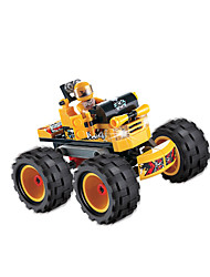 Building Blocks For Gift  Building Blocks Model & Building Toy Car Plastic Above 6 Yellow Toys