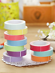 Anniversary 1pc Colorful Masking tape
