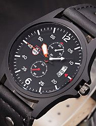 New Vintage Classic Date Leather Casual Men Women Watches Quartz Analog Clock Wrist Montre Homme Relogio