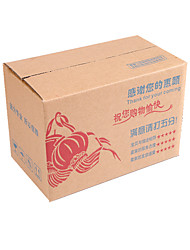 Yellow Color Other Material Packaging & Shipping Five Layer Hard Printing Packing Cartons A Pack of Seven