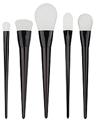 Professional 7pcs Black Foundation blush Liquid Kabuki Brush Makeup Brushes tools set Beauty Cosmetics