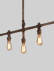 MAX 60W Island Light ,  Rustique Peintures Fonctionnalité for Style Bougie MétalSalle de séjour / Chambre à coucher / Salle à manger /