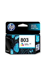 Hewlett-Packard HP f6v21aa 803 cartucho preto aplicável pages190 1,111,111,221,312,132printed