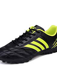 Hombre-Tacón Plano-Confort-Zapatillas de Atletismo-Casual-Tul-Negro / Azul / Blanco