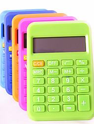 (Random color) 1PC Pupils Portable Mini Calculator