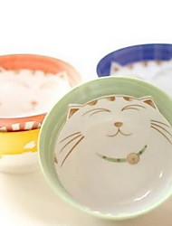 Japanese Ceramics Tableware Suit Plutus Cat Bowl Dish