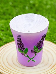 Bridesmaids / Bachelorette /Beter Gifts® Recipient Gifts - Garden Theme Lilac Candle Wedding Décor, Bridal Shower Favors