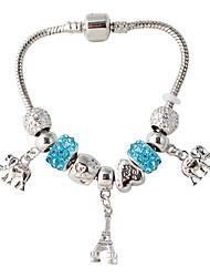 Strand Armbanden 1 stuks,Modieus Wit / Rood / Blauw Legering Sieraden Gifts