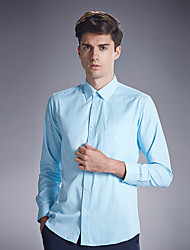 Autumn new shirt cotton men's shirts wash and wear business men's wear long sleeve white shirt SY-1887