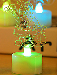 1PC Colorful Color Random Creative Pub Site plot Led Lamp Night Light LED  Electron Bougie