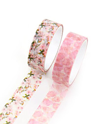 Pink Color Other Material Packaging & Shipping Tape A Pack of Two