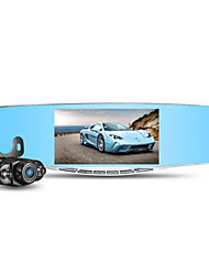 1080P Double Lens Rear View Mirror HD Driving Recorder