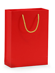 Paper Bag  Red color