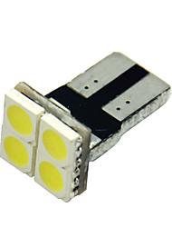 10pcs T10 5050 4 СМД белый водить автомобиль сторона клина лампа маркер лицензии луковица пластинчатые огни (DC12V)