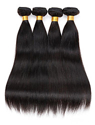 8-26inch Peruvian Virgin Remy Hair Silky Straight 3Pcs/Lot  Natural Color Unprocessed Human Hair Extensions