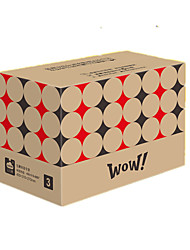 Brown Color Packaging & Shipping 7# Three Layer Hard Packing Boxes A Pack of Twelve