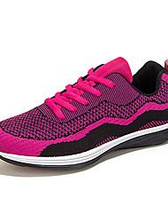 sapatos femininos tule apartamentos queda sapatilhas atlético calcanhar plana lace-up preto / azul / verde / vermelho