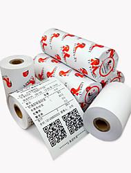caixa registadora papel de impressão térmica de papel de papel de papel de papel caixa registadora