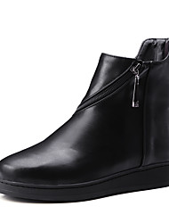 Women's Boots Fall / Winter Riding Boots / Fashion Boots / Bootie / Comfort / Combat Boots / FlatsPatent Leather /