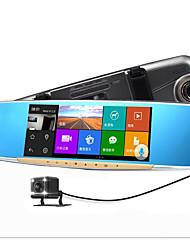 Зеркало заднего вида тахограф электронная собака машина Android навигации три HD голосового управления