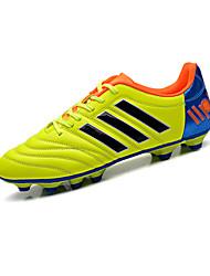 Hombre-Tacón Plano-Confort-Zapatillas de Atletismo-Casual / Deporte-PU-Negro / Azul / Amarillo / Naranja
