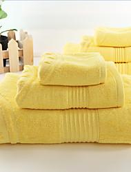 """Badehandtuch Set-100% Bambusfaser-Solide-85*150cm(33""""*59""""), 40*80cm(15""""*31""""), 35*35cm(13""""*13"""")"""