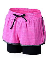 Mulheres Corrida Calças Respirável Confortável Primavera Verão Outono Corrida Algodão Náilon Chinês SoltoRoupas para Lazer Espetáculo