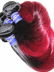 Бразильский Реми волос Пряди натуральных волос Реми Прямые Remy человеческих волос ткет
