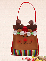 1pc Christmas Elk with Belt Candy Bag New Year Home Decoration Birthday Party Gift