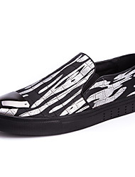 Autumn Hot Sale Men's Print Breathable Upper Slip-on Loafers in Cool Style to Show Own Your Personality for Hip-hop