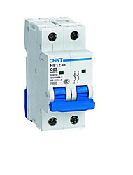 Miniature DC Circuit Breaker(Model:NB1Z-63 2P C 3A)