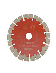 Saw Blade Outer diameter: 156mm), Inner Diameter: 22.23 (mm), Thickness: 2.0 (mm)