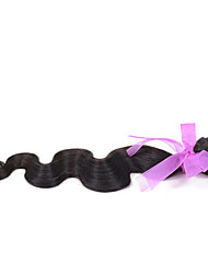 "Brazilian Virgin body wave Hair Weaving Natural Black 8-26 inches 1PCS/Lot 100g/pcs Raw Unprocessed Hair Weft(26"")"