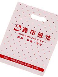 nouveaux fabricants de matériaux spécialisés dans la coutume ldpe haute pression plat sac en plastique d'un paquet de dix