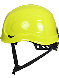 Yellow and Blue Insulated Metal Anti-Splash Mountaineering Helmet Helmet Protective Cap