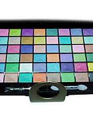48 Lidschattenpalette Schimmer Lidschatten-Palette Kompaktpuder Normal Alltag Make-up / Halloween Make-up / Party Make-up