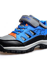 Fille / Garçon-Décontracté-Bleu / RougeConfort-Sneakers-Polyuréthane
