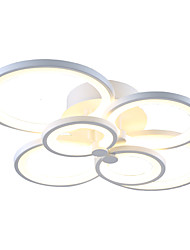Led72W Flush Mount /Remote Controller/ Modern/Contemporary /Living Room / Bedroom / Metal & Acrylic
