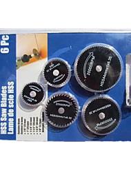 алюминиевый сплав пильный диск (6шт)