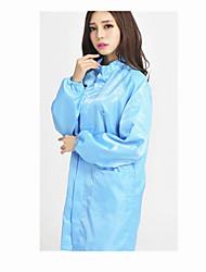 blauen Gitter fringe antistatische Kleidung