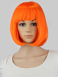 New Hot 32cm short straight sexy ladies Bob synthetic hair wig peruca,Top quality Japanese kanekalon fibre party wig