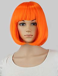 New Hot 32cm short straight sexy ladies Bob synthetic hair wig peruca,Top quality Japanese kanekalon fibre party wig