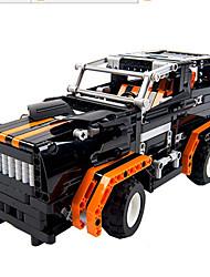 Children Assembled Building Blocks Remote Car Toy Puzzle Transformers Model